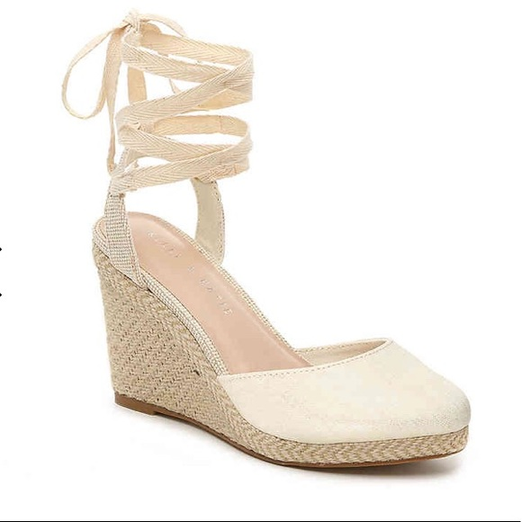 c5df6c34aa75 NWT Kelly   Katie Wedge Espadrille Sandal Size 9